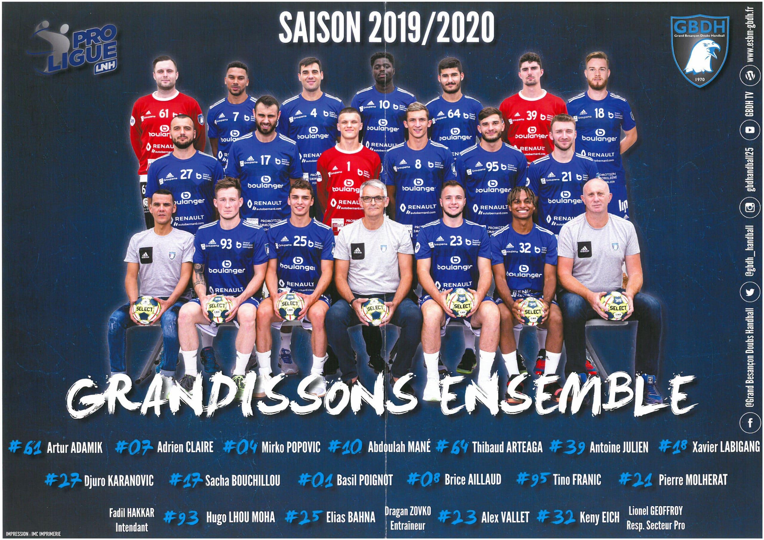 Soutien sportif : handball